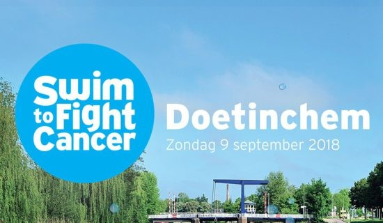 MDH Uitgeverij steunt Swim To Fight Cancer