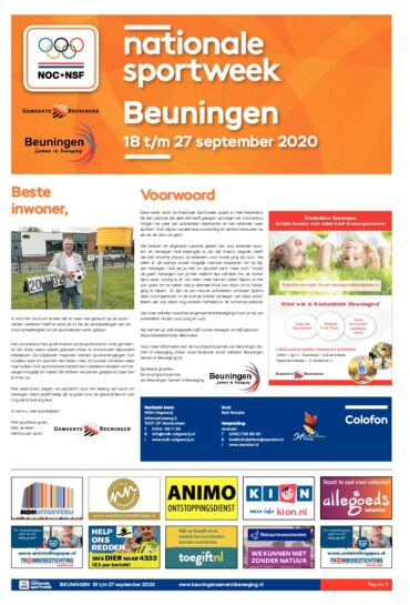 Nationale Sportweek Beuningen