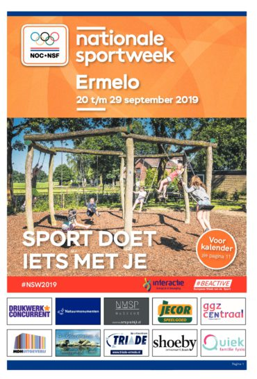 Nationale Sportweek Ermelo