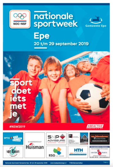 Nationale Sportweek Epe