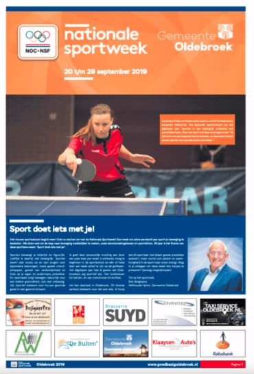 Nationale Sportweek Oldebroek