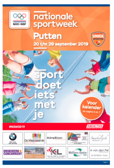 Nationale sportweek Putten