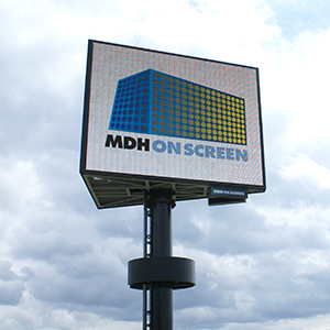 Outdoor LED reclamemast A18